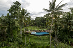 Ville de Bali des dieux Photos stock