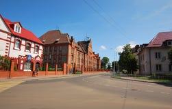 Ville de Baltiysk de la région de Kaliningrad Image libre de droits