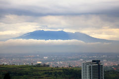 Ville de Bandung Photos stock