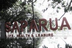 Ville de Bandung de parc de Saparua Image libre de droits