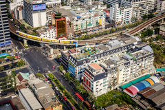 Ville de Bangkok Images libres de droits