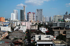 Ville de Bangkok de la Thaïlande Image stock