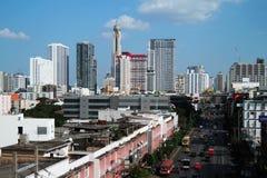Ville de Bangkok de la Thaïlande Images libres de droits