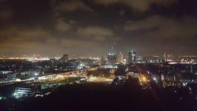 Ville de Bangkok la nuit Images libres de droits