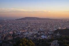 Ville de Barcelone, Espagne Image libre de droits