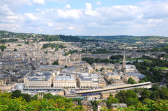 Ville de Bath Photo libre de droits