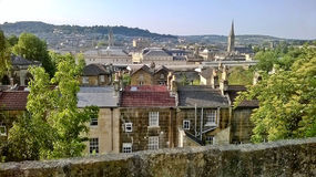 Ville de Bath Image stock