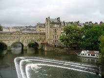 Ville de Bath, Angleterre Image libre de droits