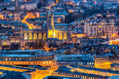 Ville de Bath Somerset England R-U l'Europe Photographie stock