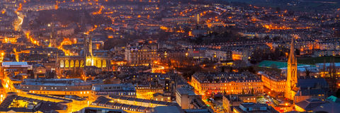 Ville de Bath Somerset England R-U l'Europe photographie stock