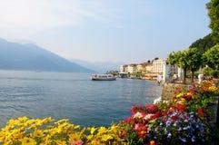 Ville de Bellagio sur le lac Como en Italie Photographie stock libre de droits