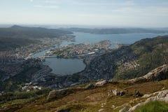 Ville de Bergen Photo stock