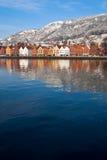 ville de Bergen Images libres de droits