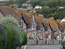 Ville de bière, Devon, Angleterre Images libres de droits