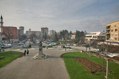 Ville de Bijeljina Image libre de droits