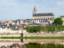 Ville de Blois стоковое фото