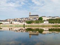 Ville de Blois Stockbild