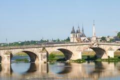 Ville de Blois Stockbilder