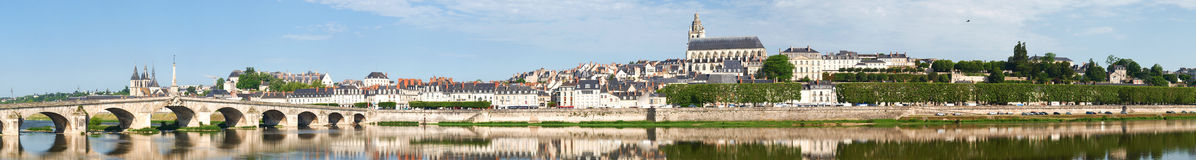 Ville de Blois Stockfotos