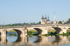 Ville de Blois Stock Images