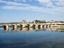 Ville de Blois Stock Photography