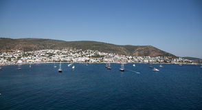 Ville de Bodrum Photos stock