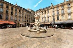 Ville de Bordeaux Photographie stock