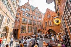 Ville de Brême en Allemagne photographie stock libre de droits