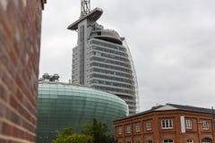 Ville de Bremerhaven en Allemagne Photos libres de droits