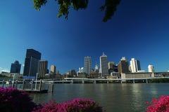 Ville de Brisbane Photographie stock libre de droits