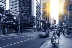 Ville de Brisbane Photos stock