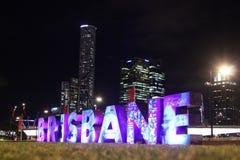 Ville de Brisbane Image stock
