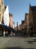 Ville de Bruges images stock