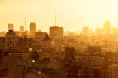 Ville de Buenos Aires Images libres de droits