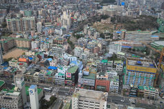 Ville de Busan Photographie stock libre de droits