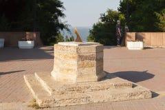 Ville de cadran solaire de Taganrog Image stock