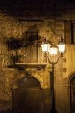 Ville de Campo di Giove Old en région de montagnes de l'Abruzzo Photographie stock libre de droits