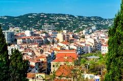 Ville de Cannes images stock