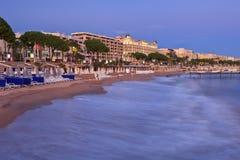Ville de Cannes images libres de droits