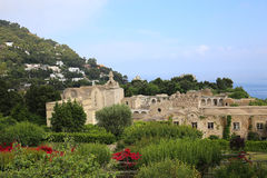 Ville de Capri, île de Capri, Italie Photo libre de droits
