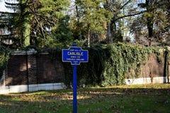 Ville de Carlisle, Pennsylvanie, Etats-Unis Images stock