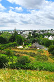 Ville de Carnac dans Brittany Photo stock