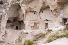 Ville de caverne de Goreme Images stock