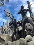 Ville de Cebu de monument d'héritage Images libres de droits