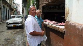 Ville de centre du Cuba, La Havane photos libres de droits