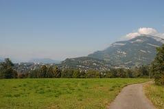 Ville de Chambéry, en la Savoie, Frances Image libre de droits