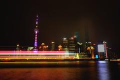 Ville de Changhaï Photo libre de droits
