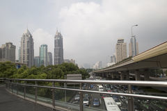 Ville de Changhaï photos stock