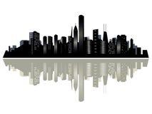 Ville de Chicago illustration de vecteur