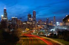 Ville de Chicago Image stock
